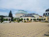 picture of bohemia  - spa Colonnade Frantiskovy lazne - JPG