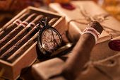 pic of cigar  - Time to enjoy - JPG