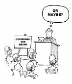 picture of speaker  - Cartoon of keynote speaker - JPG