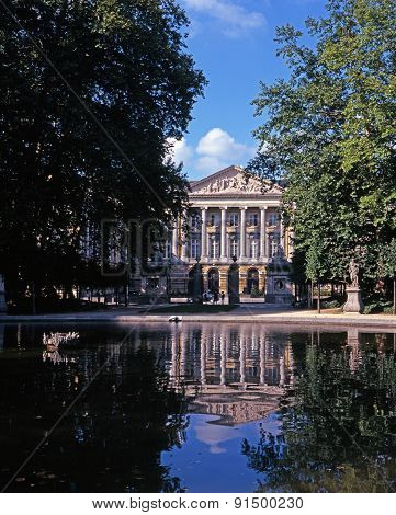 Palace of the Nation, Brussels.