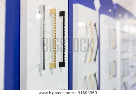 Big range of metal handles