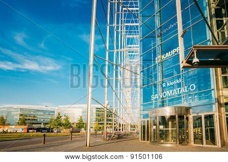 View of Sanoma House in HELSINKI, FINLAND
