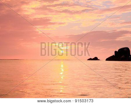 Pinky Glow Unreal Backdrop