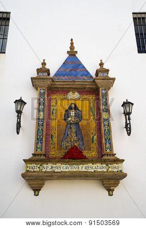 Altar in Cadiz