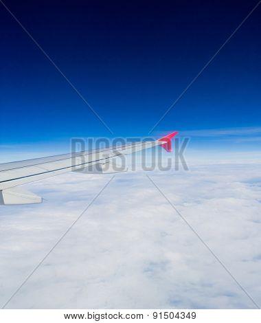 View from Window Heavenly Scene