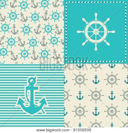 set sea seamless