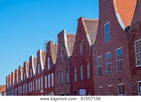 The dutch quarter in Potsdam