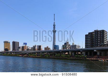Tokyo skyline at daytime