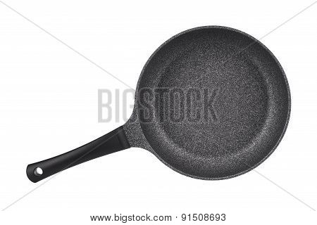 Beautiful New Kitchen Pan Isolated On White Background