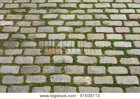 Old Stone; Pavement Texture Background