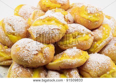 Handmade Cream Puffs