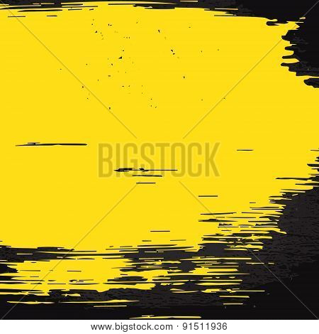 Yellow Brush Stain