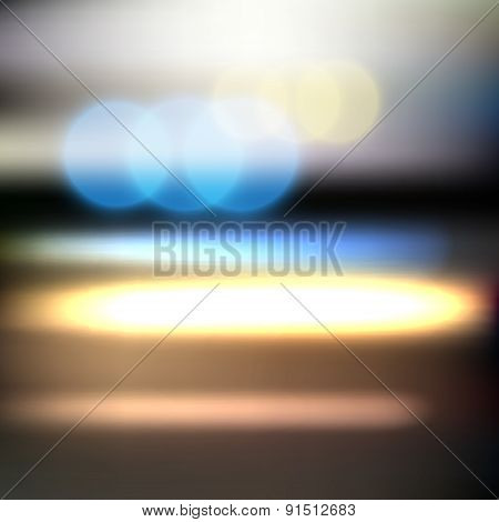 Abstract Blurred Motion Background