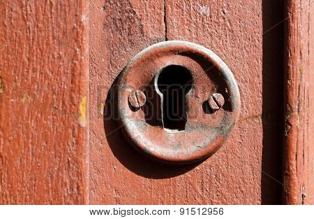 Very Old Keyhole