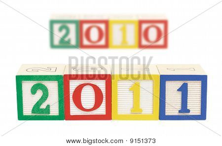 2011 Wooden Blocks Horizontal