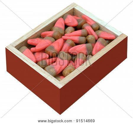 Gift Box Of Candy Corn