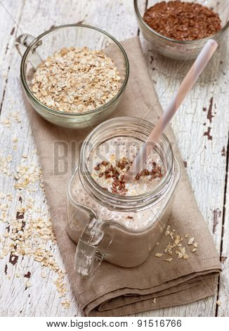 Smoothies With  Oatmeal