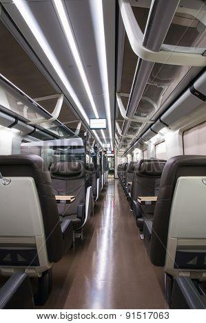 Business Class Rail Wagon