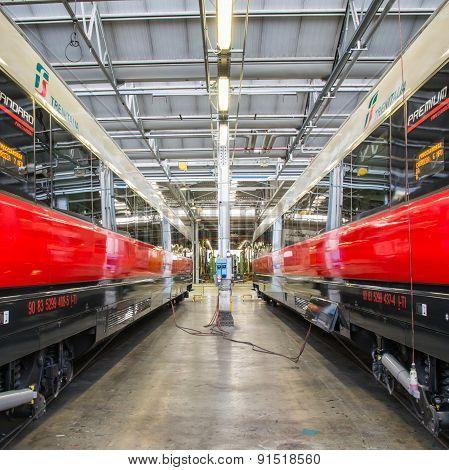 Business Rail Wagons
