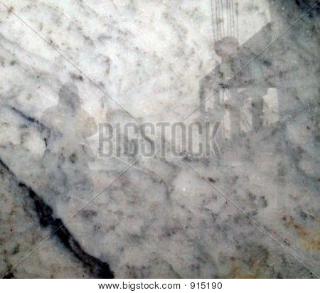 Shadow On Marble