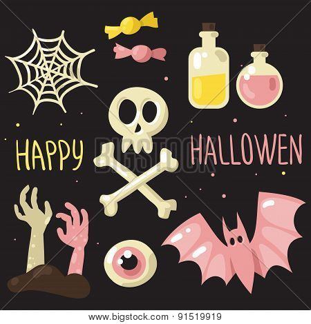 Pink Halloween Set