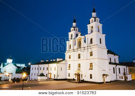 The Cathedral Of Holy Spirit In Minsk - The Famous Main Orthodox