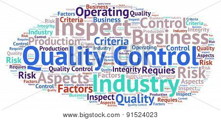 Quality Control - Word Cloud