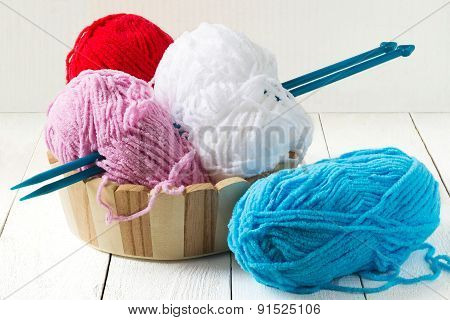 Colorful Yarn For Knitting