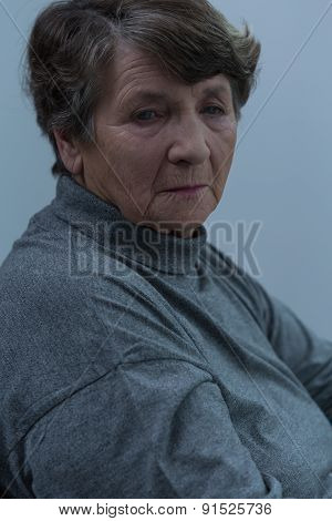 Depressed Old Women