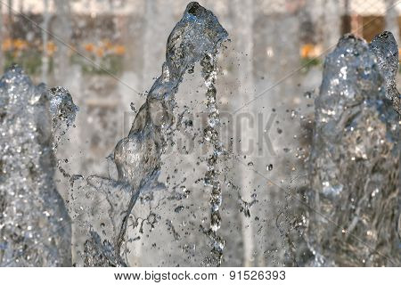 Water Jet Background Abstract