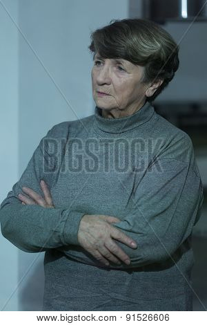 Lonely Depressed Pensioner