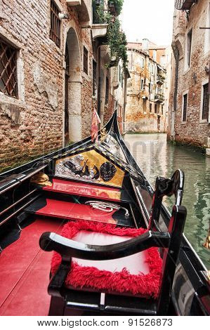 Taking A Tour In A Venetian Gondola