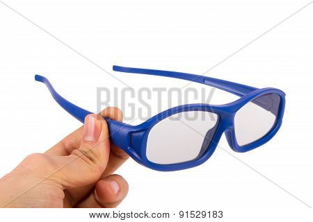 Three Dimensional Cinema Eyeglasses