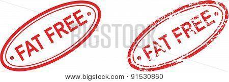 fat free stamp set