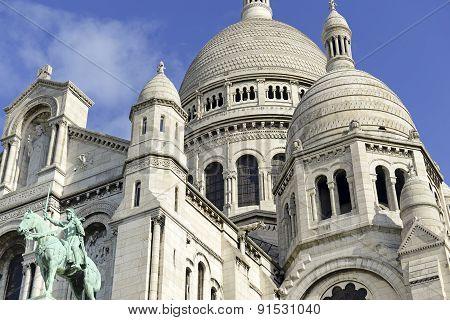 Sacre Coeur Church and Basilica, Paris France
