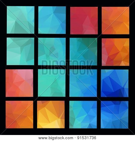 Abstract Geometric backgrounds