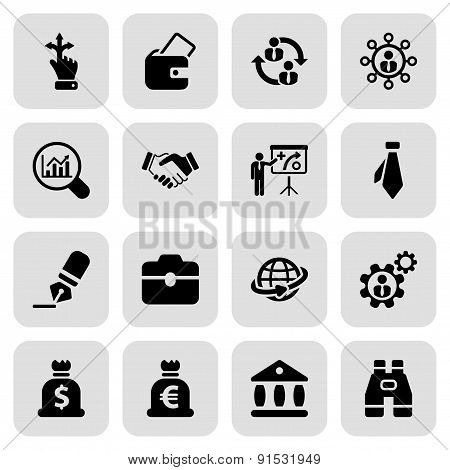 Flat Business Iconset 2