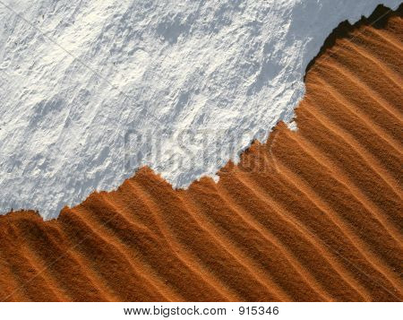Sand And Snow - The Wonders Of A Desert In Egypt