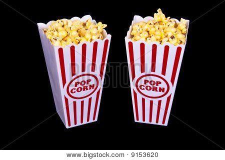 Palomitas de maíz de teatro para dos
