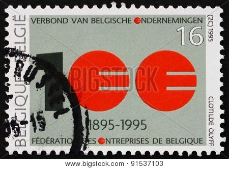 Postage Stamp Belgium 1995 Association Of Belgian Enterprises