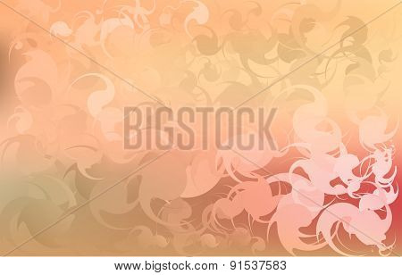 Delicate color abstract background