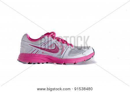 Nike Women's Pink Running Shoe - Sneaker