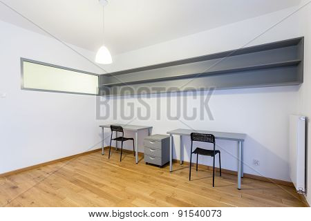 Interior Of Office Space In House