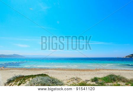 Blue Sky And Turquoise Water