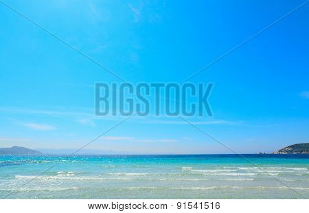 Turquoise Water And Blue Sky