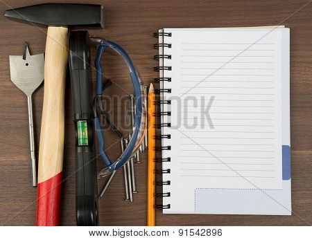 Different working tools