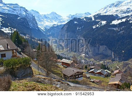 The Lauterbrunnen Valley