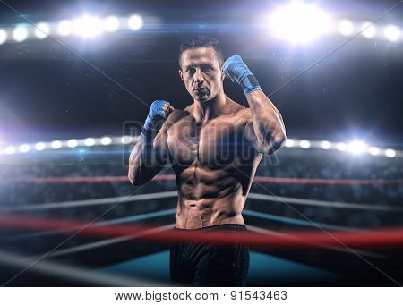 A Strong Man In The Ring