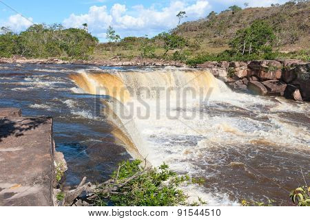 Waterfall in Venezuela