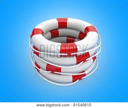A bunch life buoy